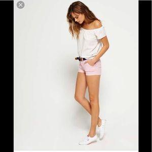 💃 Ecru pink Bermuda shorts 2